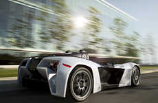 Sleek Road-Ready Racecars