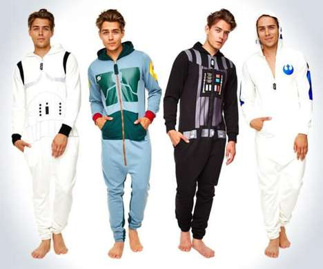 Stylish Sci-Fi Onesies - These Star Wars Adult Onesies are Made for a Much More Youthful Consumer