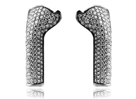 Diamond Encrusted Earbud Covers