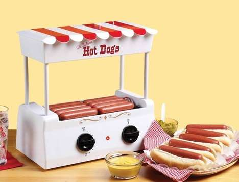 Retro Hot Dog Rollers