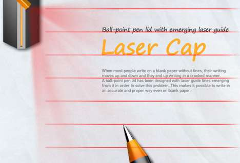 Guideline-Casting Pen Caps
