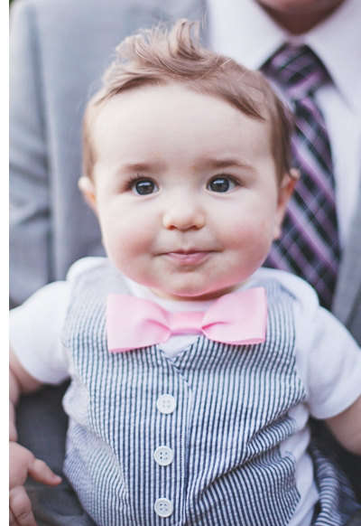 Dapper Baby Onesies - Your Baby Will Look Like a True Gentleman in This Little Suit