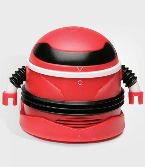 Trash-Terminating Robots - This Efficient Mini Vacuum Robot Removes Table Trash So You Don't Have To