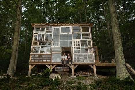 DIY Glass Getaway Homes
