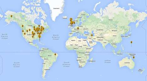 Profanity Plotting Interactive Maps