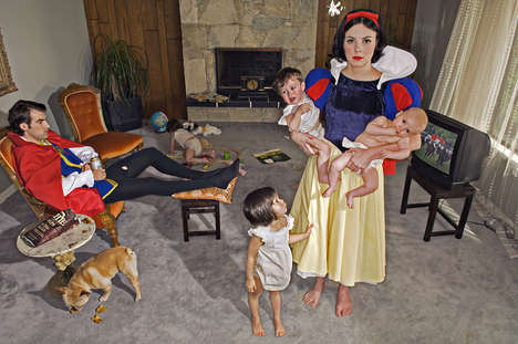 Depressing Disney Princess Photography - This Series Showcase the Sad Lives of Adult Princesses