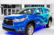 Cartoonish SUV Creations - The Toyota Highlander SpongeBob is Inspired by All Things Under the Sea