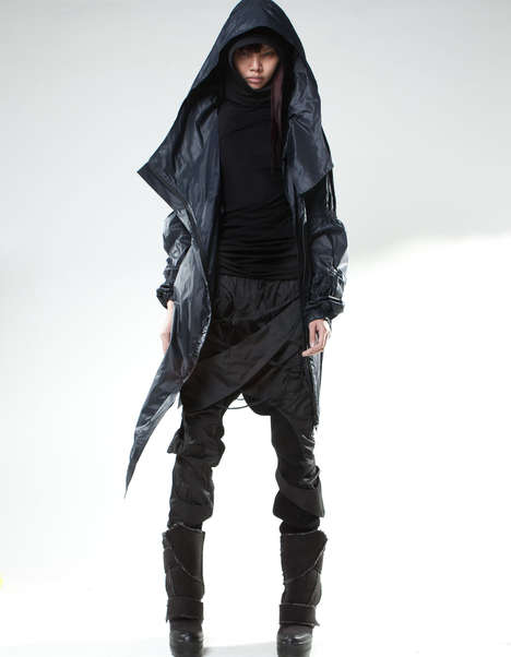 Post-Apocalyptic Leather Ensembles - Look Great in the Despondent Future with This Demobaza Line