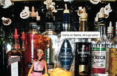 Alcohol Awareness Doll Ads