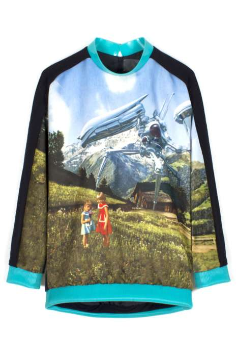 Dystopic Graphic Sweaters