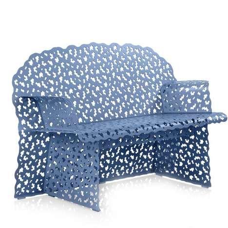 Instricate Shrub-Like Furniture