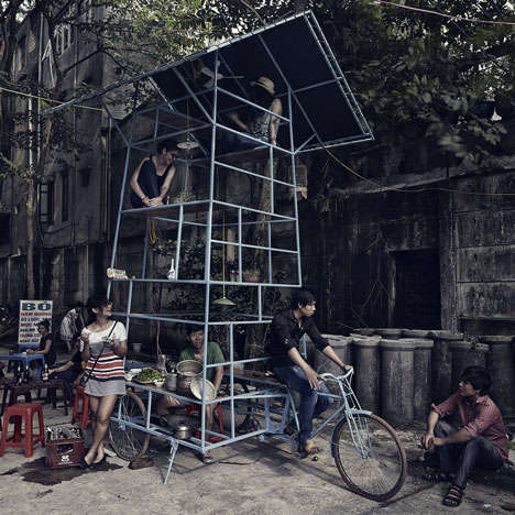 Three-Wheeled High Rises
