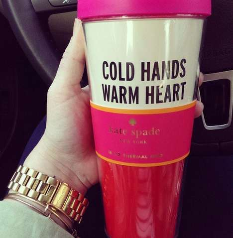 Stylish Hand-Warming Mugs