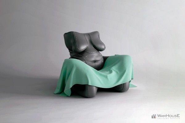 50 Human-Furniture Hybrids