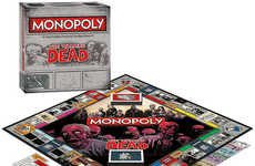 Zombie Survival Board Games - With the Walking Dead Monopoly You Risk Losing More Than Your Money