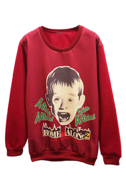 Screaming Child Star Sweaters