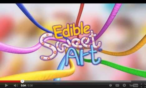 Edible Modeling Clay Art