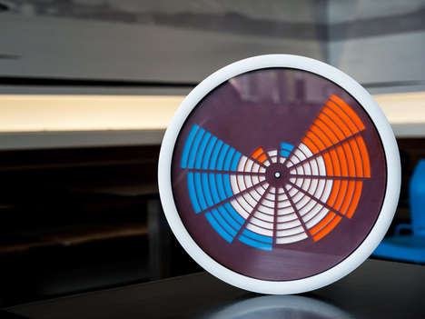 Futuristic Analog Clocks