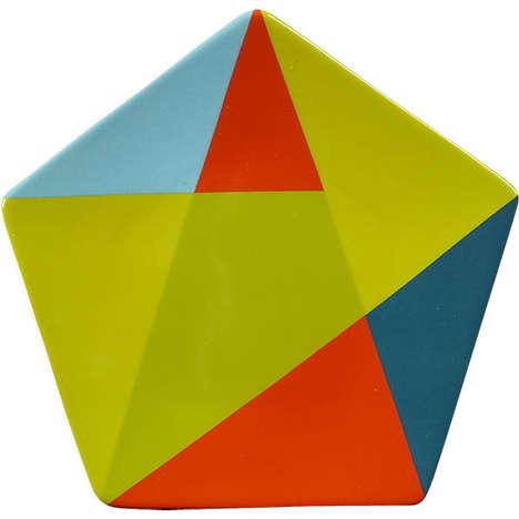 Gridded Geometry Decor