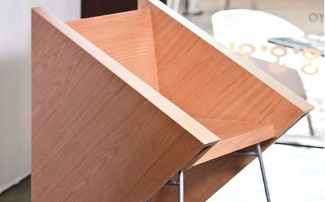 Triangulated Timber Seats