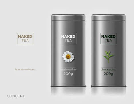 Bare Beverage Branding
