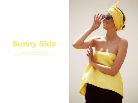 Cheerful Yellow Fashion