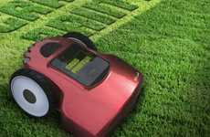 Automatic Lawn Letterers - The Grass Printer Make Your Yard a Canvas for Literal Communication