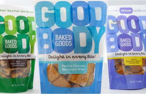 Bold Wordy Branding - Goodbody Packaging is Dominated by Appealing Encouraging Text
