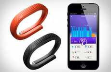Updated Health-Tracking Accessories - New Features Make the 'Jawbone Up 24' a Must-Have This Christm
