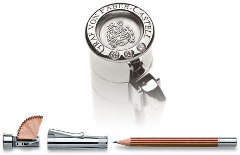 Exuberantly Expensive Luxury Pencils - The Graf Von Faber-Castell Pencil is Immensely Pricey