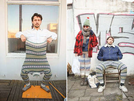 Upcycled DIY Swants - Stay Warm this Winter Wearing Homemade Sweater Pants