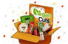 Vegan Snack Subscription Boxes - Vegan Cuts' Vegan Food Box is an Easy Way to Please Animal Lovers