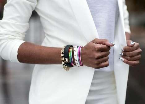 Upscaled Fitness Bracelets