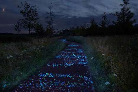 Painting-Inspired Bike Paths
