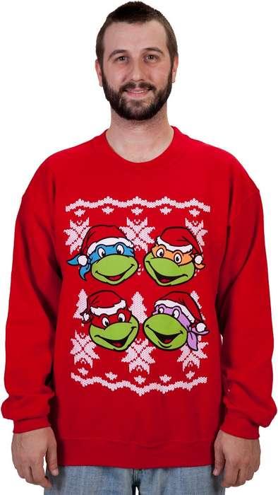 Festive Cartoon Turtle Jumpers