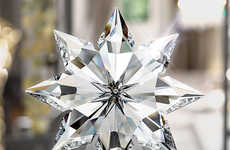 Swarovski Christmas Tree Toppers - Celebrate Christmas with This Crystal Christmas Star by Swarovski