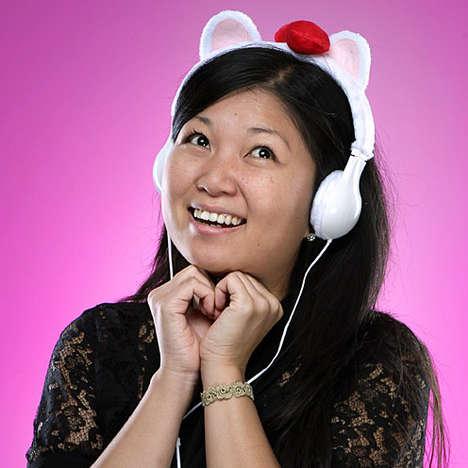 Furry Feline Headsets
