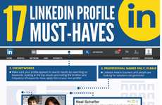 Online Resume-Improving Graphics - Improve Your LinkedIn Profile with This Infographic's 17 Tips