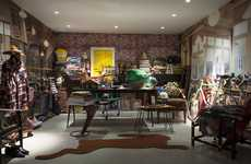 Retrospective Shop Exhibitions - Sir Paul Smith's London Exhibition Recalls a Former Shop Space
