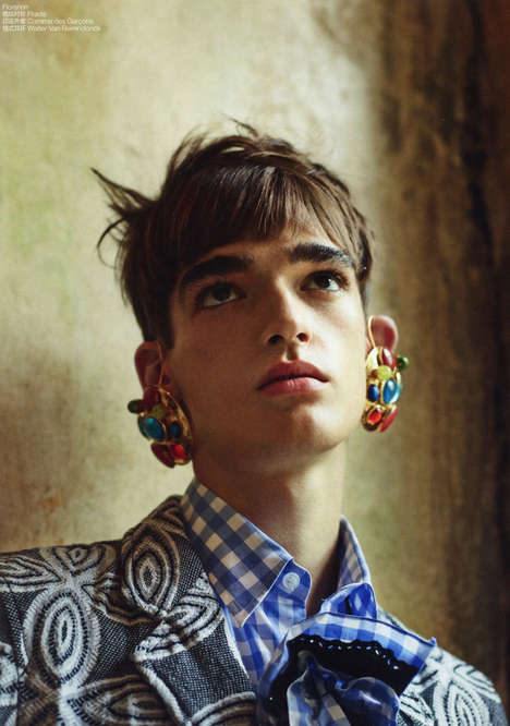 Androgynous Accessory Editorials