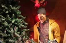 Nostalgic Christmas Window Displays - Holt Renfrew's Christmas Windows Showcase Fun and Frustration
