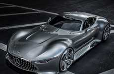 Gamer Supercar Concepts - The AMG Vision Gran Turismo Exists Only in 'Gran Turismo 6'