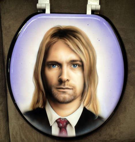 Celeb Toilet Seat Portraits