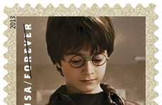 Magical Movie Postage - The United States Postal Service Previews Their Harry Potter Stamps Designs