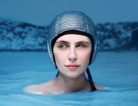 The Floating Cap Helps Keep Your Head from Being Submerged Underwater