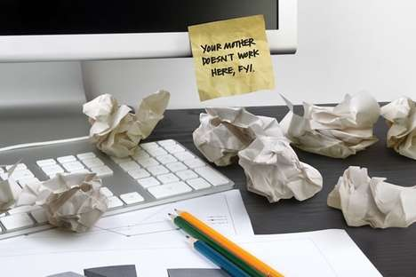 Crumpled Sticky Notes