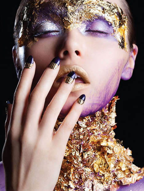 Embellished Nail Art Editorials