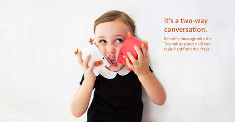 Communicative Kiddie Toys - 'Toymail' is a Like a Safe Voicemail System for Kids and Parents