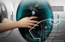 Tag-Scanning Clothes Washers - Smart Chime Washing Machine Ensures You're Following the Directions