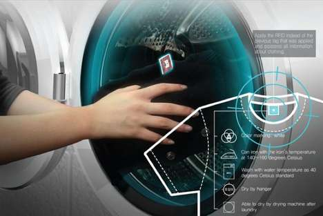 Tag-Scanning Clothes Washers
